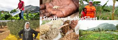 #StayHomeButNotSilent
